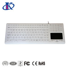 IP68 Waterproof Keyboard with 122 keys including 24 function keys and numeric keypad