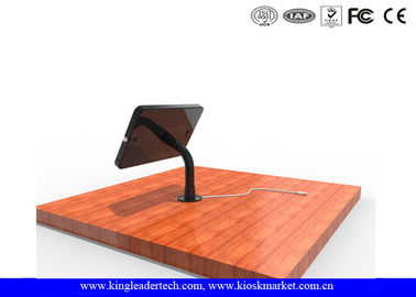 Table IPAD Kiosk Stand with 360 Dgree Rotating Metal Stand to be Used in Shops