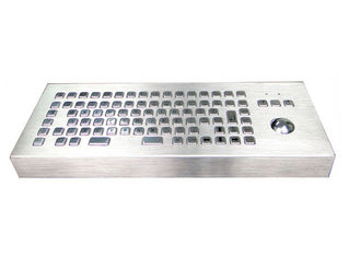 Standing Alone Industrial Keyboard Waterproof With F1-F12 Function Keys / Mouse Ball