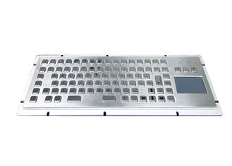 Panel Mounting Industrial Keyboard And Trackball F11-F12 With Function Keys