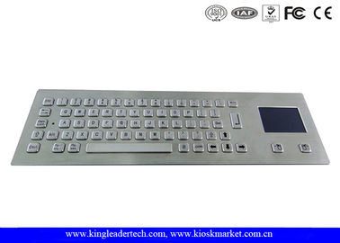 China Teclado industrial com o Touchpad e as 64 chaves IP65 avaliados para o quiosque fornecedor